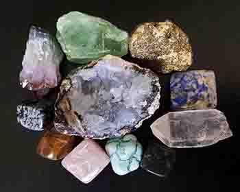 coleccion minerales aleatoria