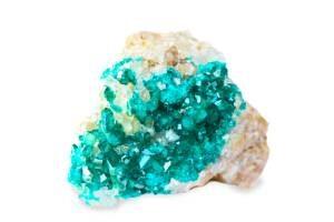 dioptasa piedra